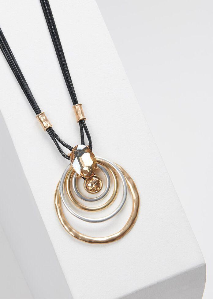Luxe Hoop Necklace, , hi-res