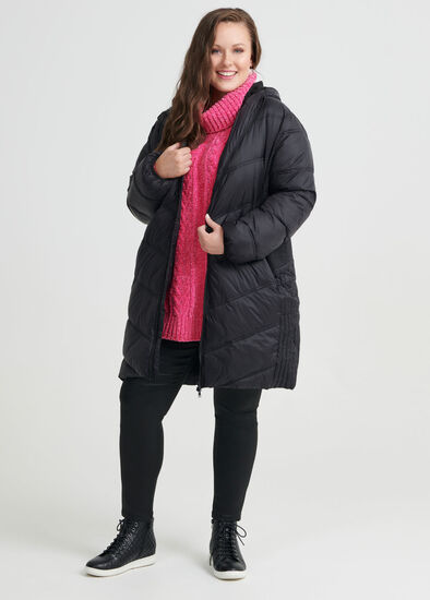 The Stitch Puffer Jacket