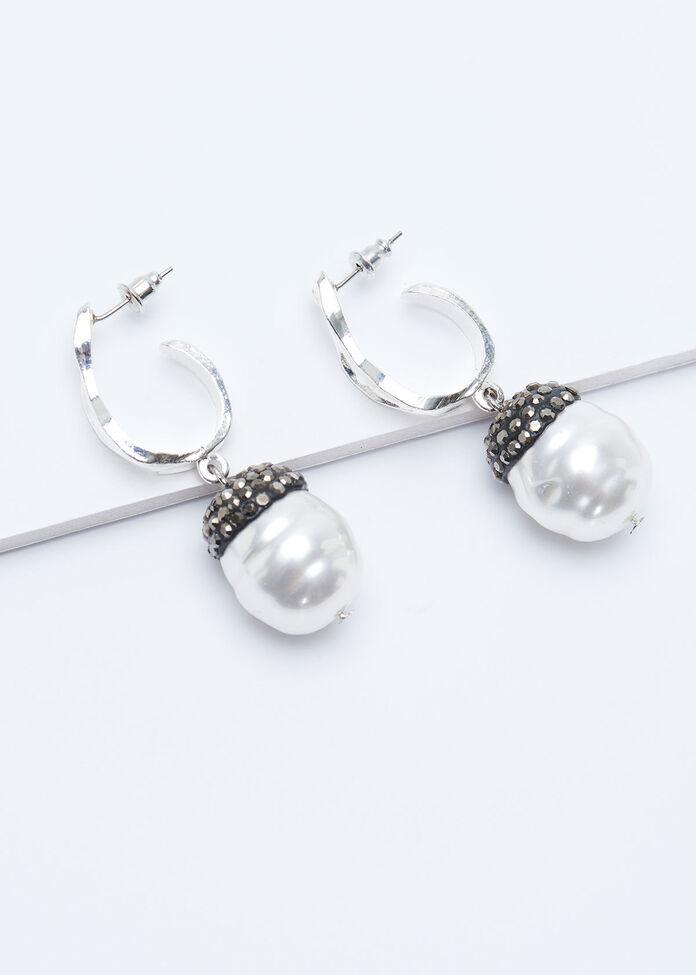 Pearl Drop Earring, , hi-res