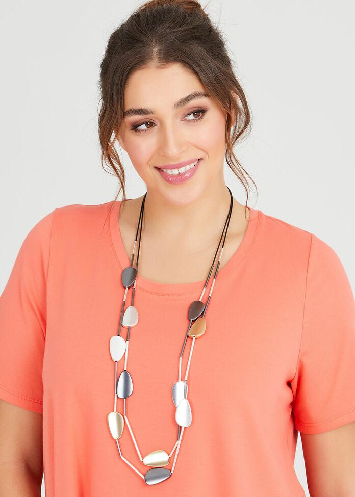 Tumbled Necklace, , hi-res