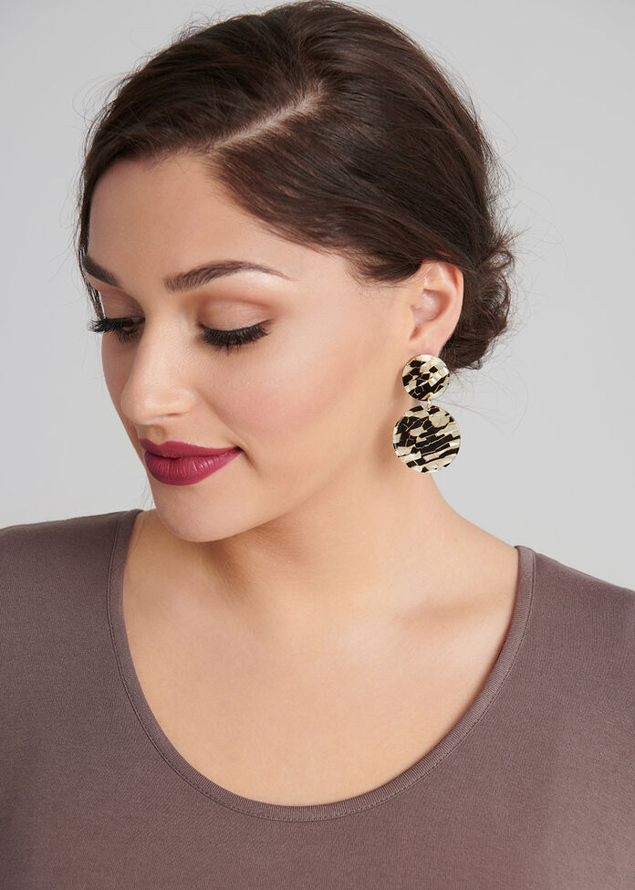 Bronze Glow Earrings, , hi-res