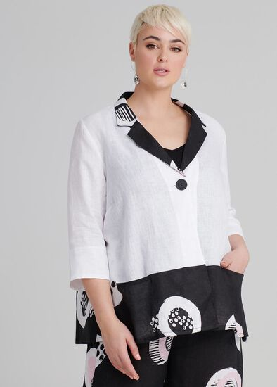 Provence Linen Jacket
