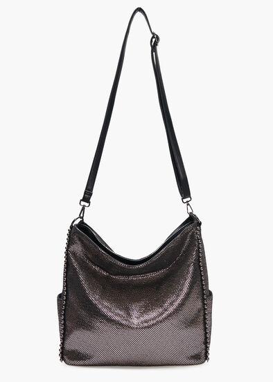Shimmer Hobo Bag