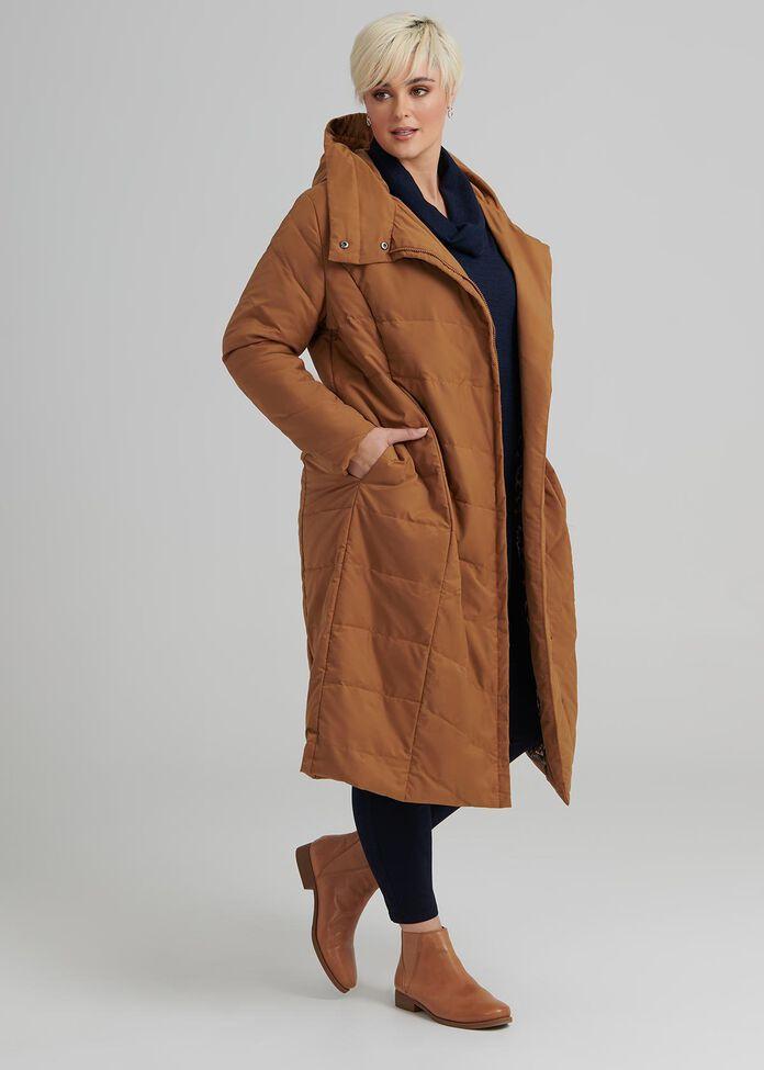 Obsession Puffer Coat, , hi-res
