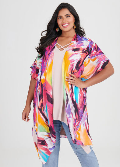 Colour Twist Cape