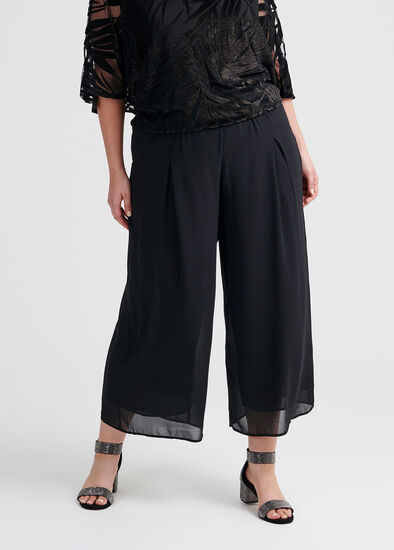 Glamour Evening Crop Pant