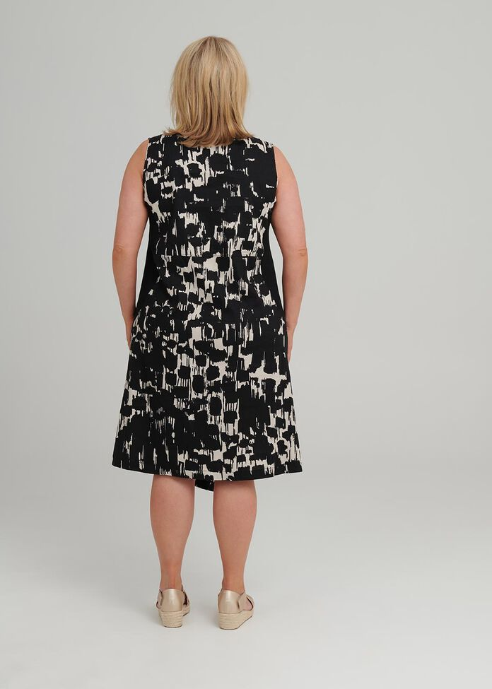 Petite Mela Linen Dress, , hi-res
