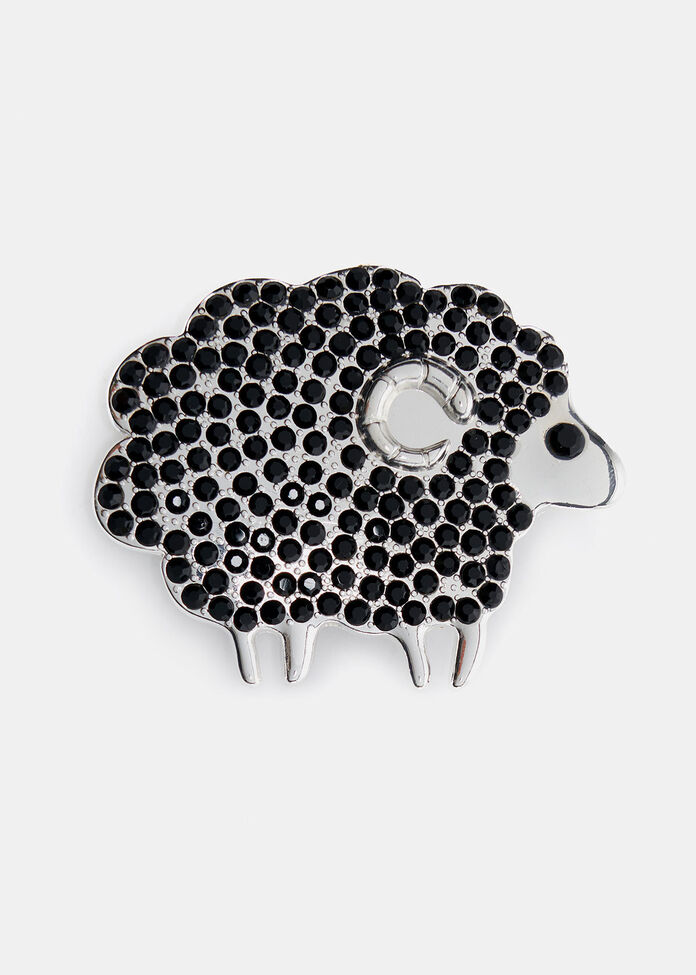 The Black Sheep Brooch, , hi-res