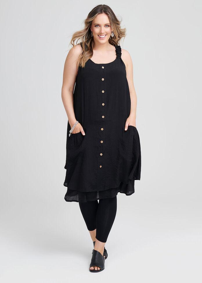 Sweet Escape Buttons Dress, , hi-res