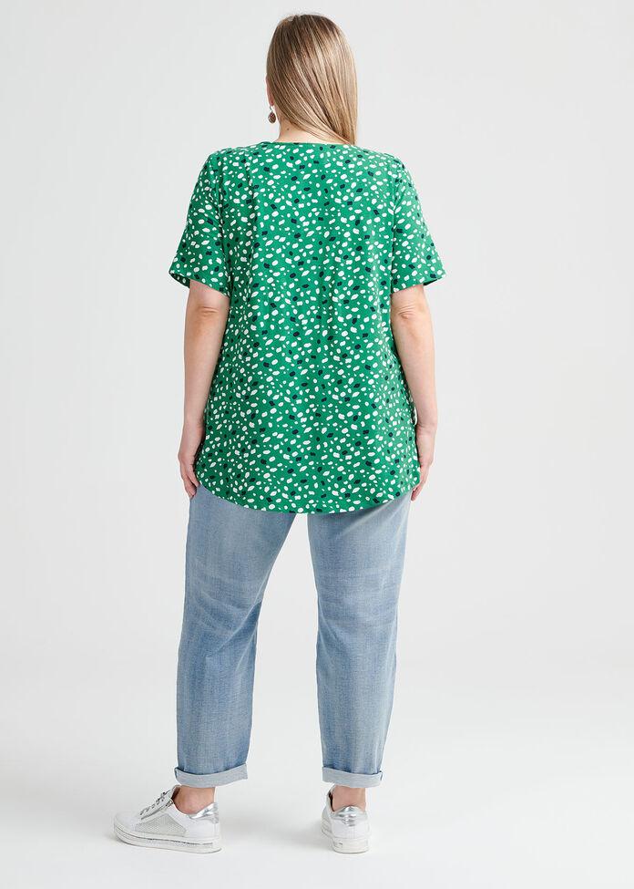 Terrazzo Cotton Top, , hi-res