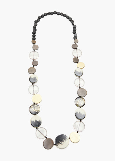 Wooden Jungle Bead Necklace