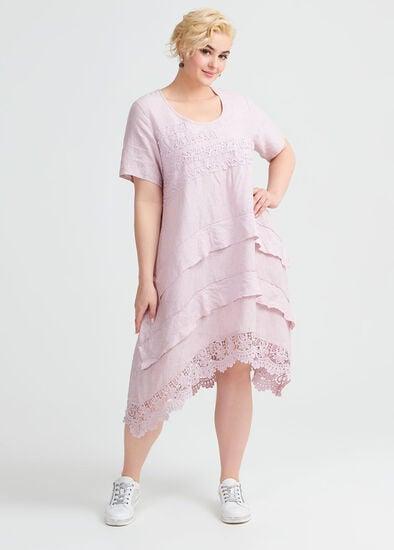 Linen Lace Dress
