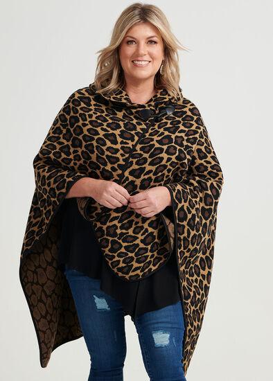 Leopard Lady Carter Cape