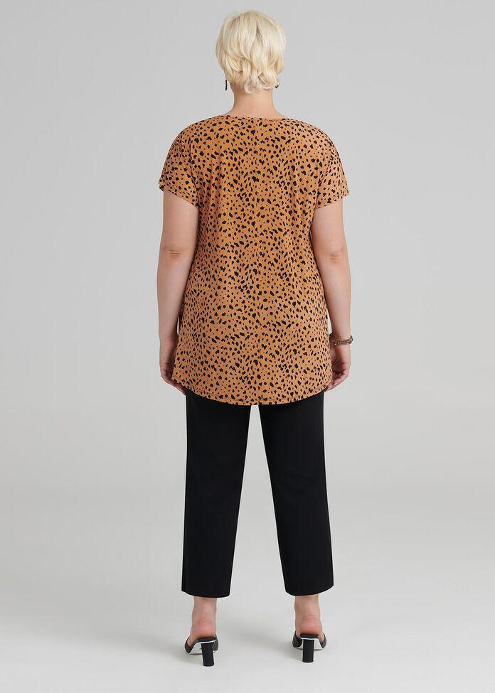 Tigeress Knot Top, , hi-res