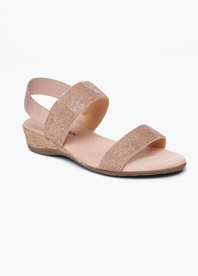Goldie Rose Wedge