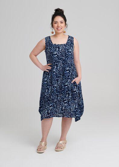 Petite Shibori Dress