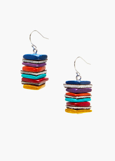 In The Square Earrings