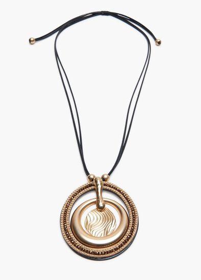 Russet Hoop Necklace