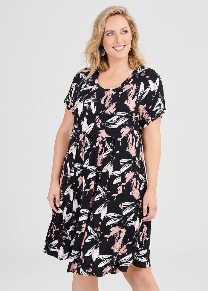 Bamboo Cleo Dress, , hi-res