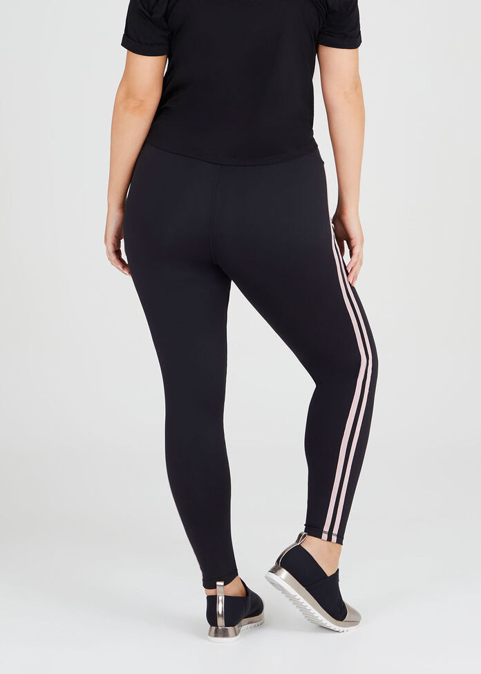 Active Stripe Legging, , hi-res