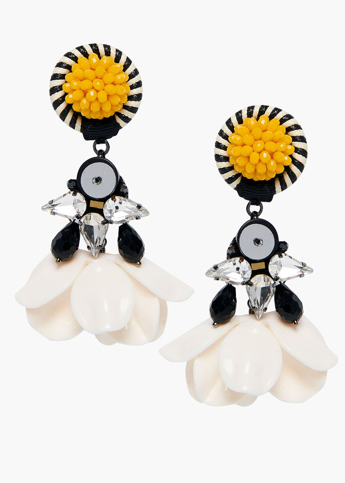 Flower Power Earrings, , hi-res