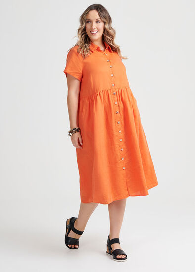 Linen Buena Vista Dress