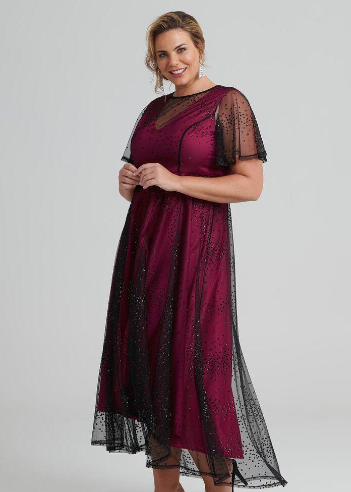 High Low Priscilla Dress, , hi-res