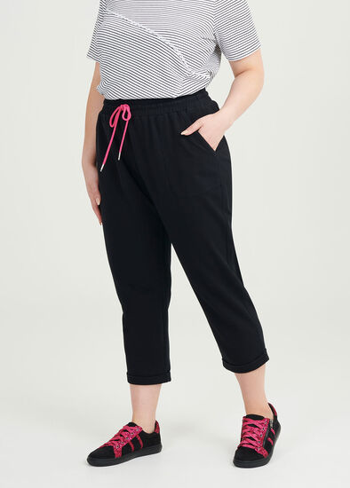 Organic Cropped Jogger