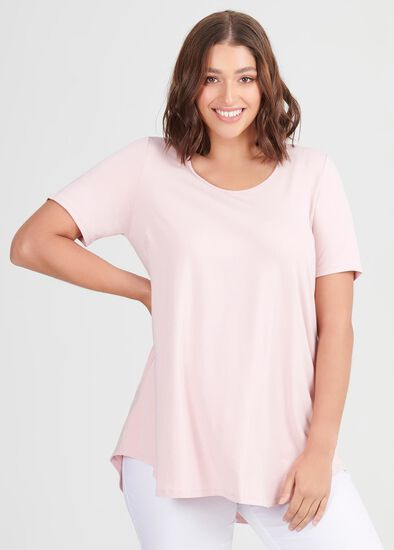 Bamboo Base Short Sleeve Top
