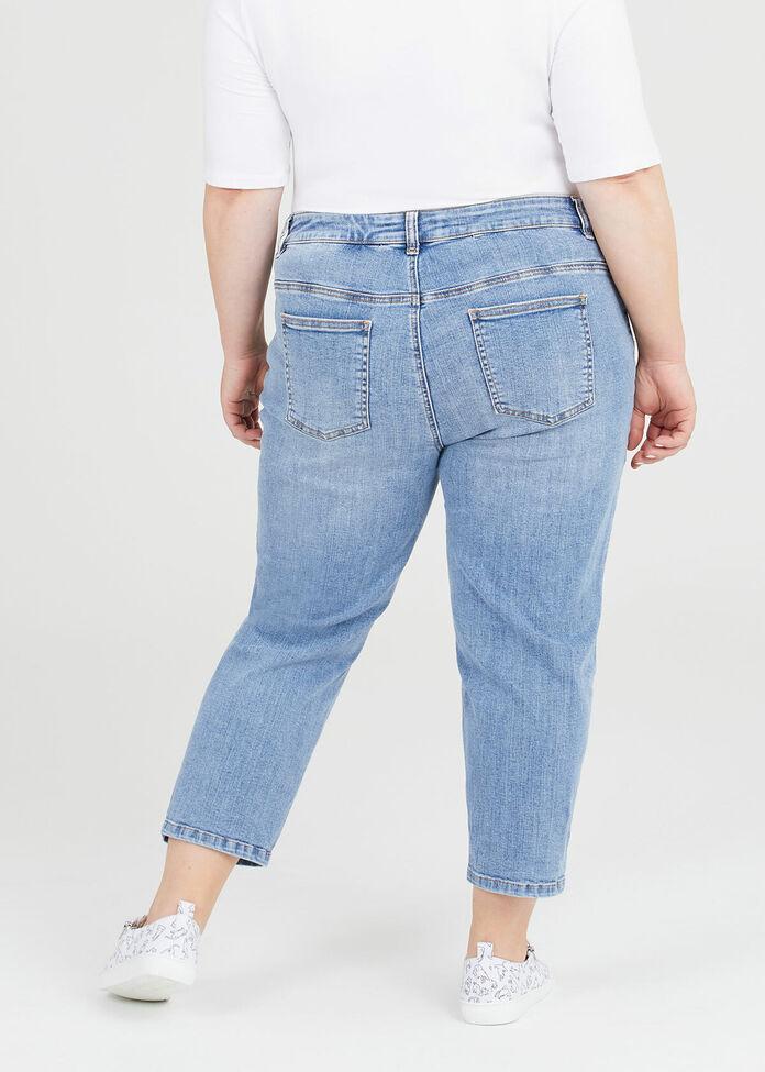 Petite Coolmax Mom Jeans, , hi-res