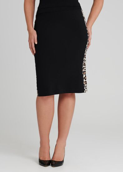 Jaguar Ponte Skirt