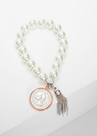 Pearl Tassel Bracelet