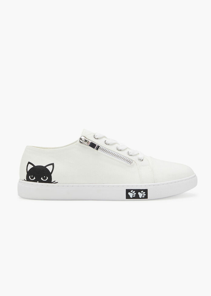 Kitty Bamboo Sneaker, , hi-res