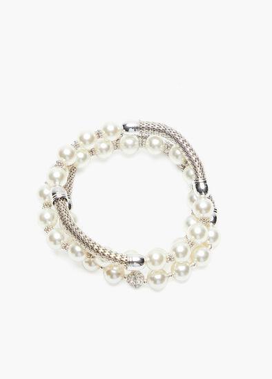 Pearl Bracelet Stack
