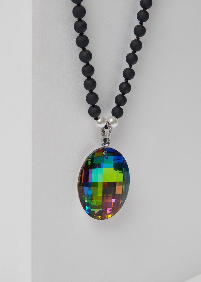Prism Crystal Necklace, , hi-res