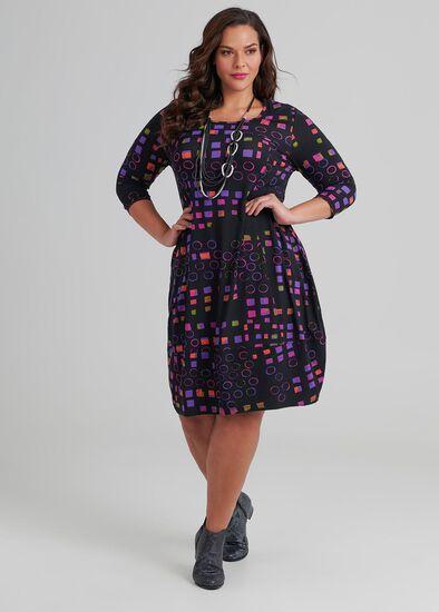 Quatro 3/4 Sleeve Dress