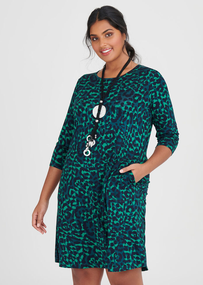 Bamboo Into The Wild Dress, , hi-res