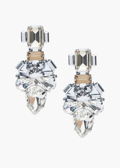 Glamour Crystal Earrings