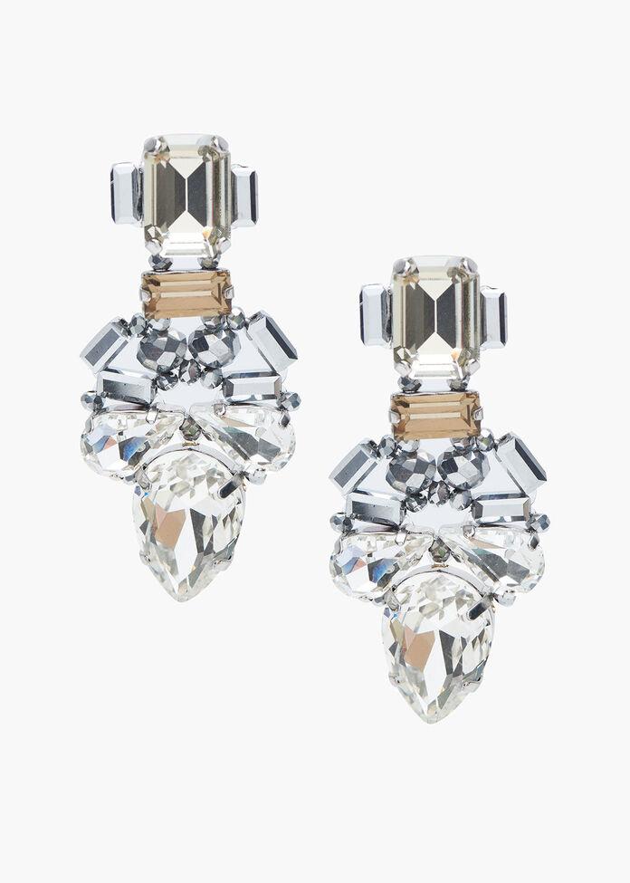 Glamour Crystal Earrings, , hi-res