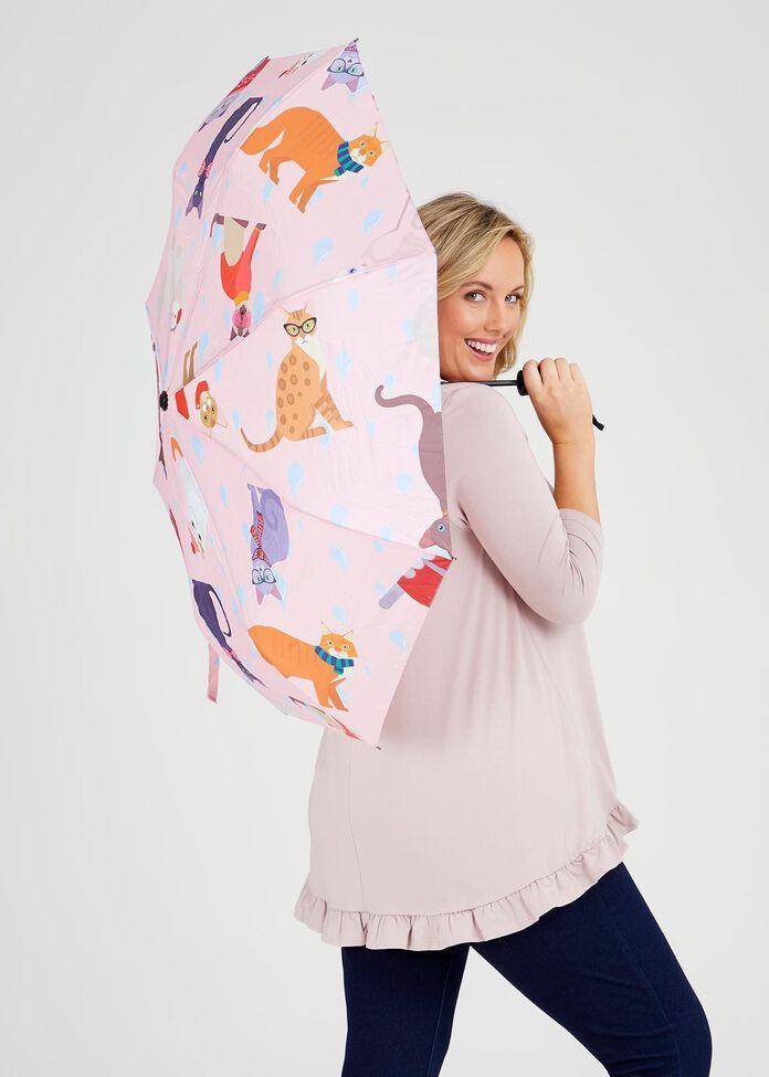 Kitty Cat Umbrella, , hi-res