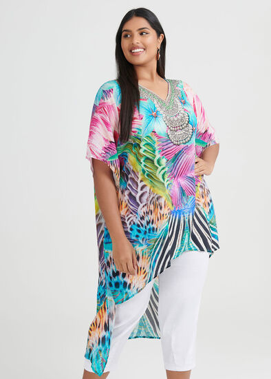 Club Aqua Viscose Tunic