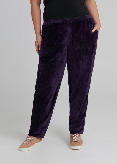 Velour Active Track Pant