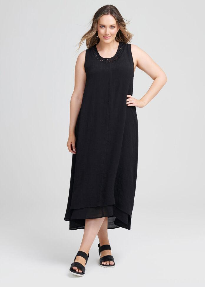 Cross My Heart Maxi Dress, , hi-res