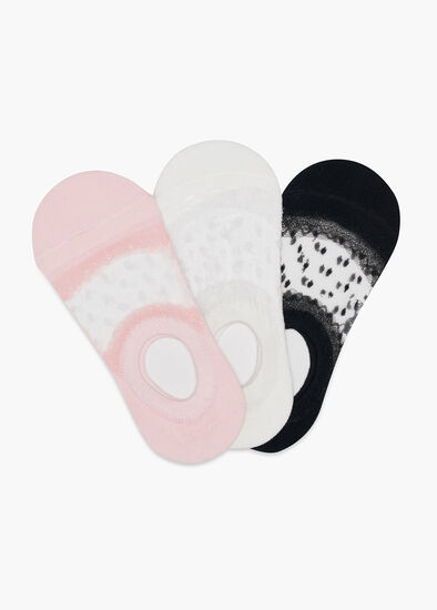 Set/3 Sheer Socks