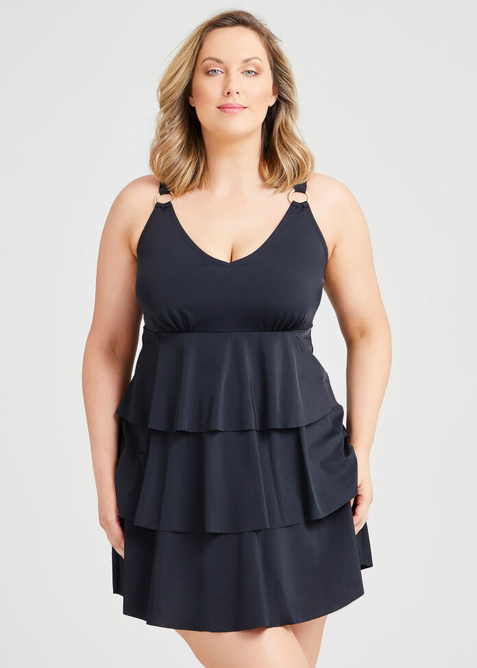 Layer Swimsuit, , hi-res