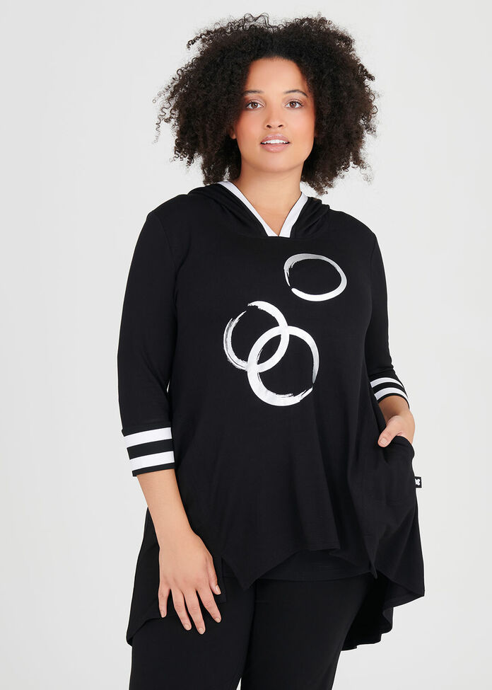 Bamboo Obsession Spot Tunic, , hi-res