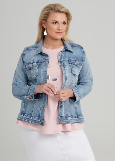 The Easy Fit Denim Jacket