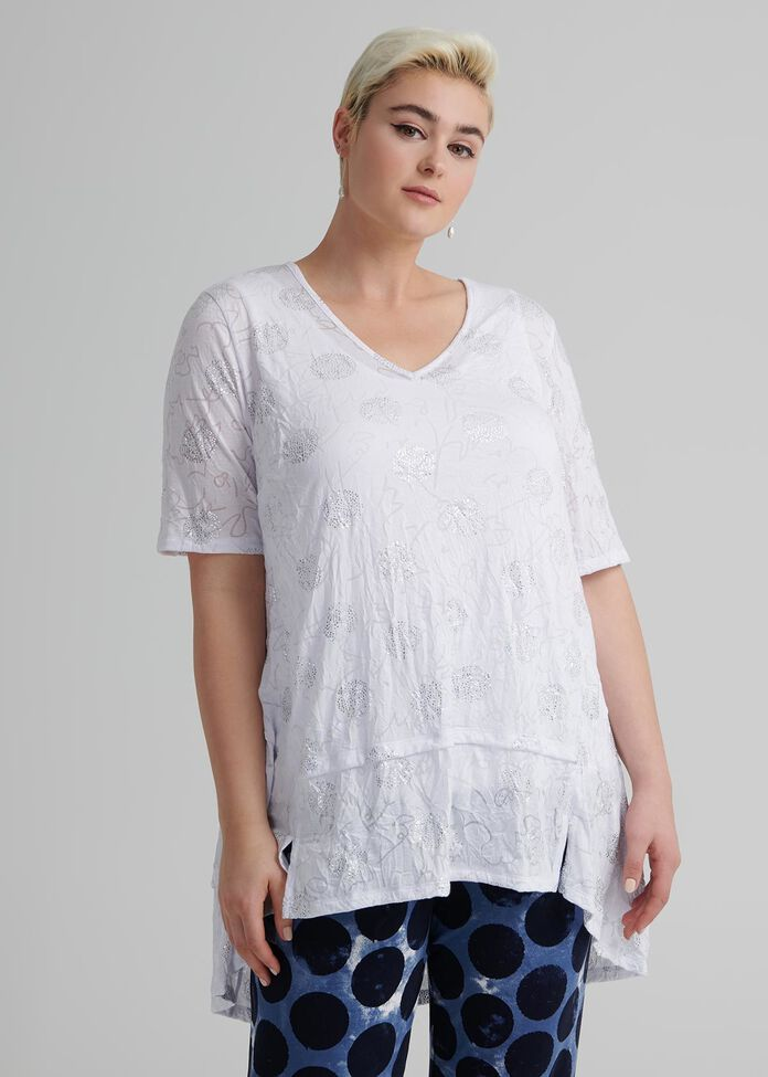 Shimmer Shine Modal Top, , hi-res