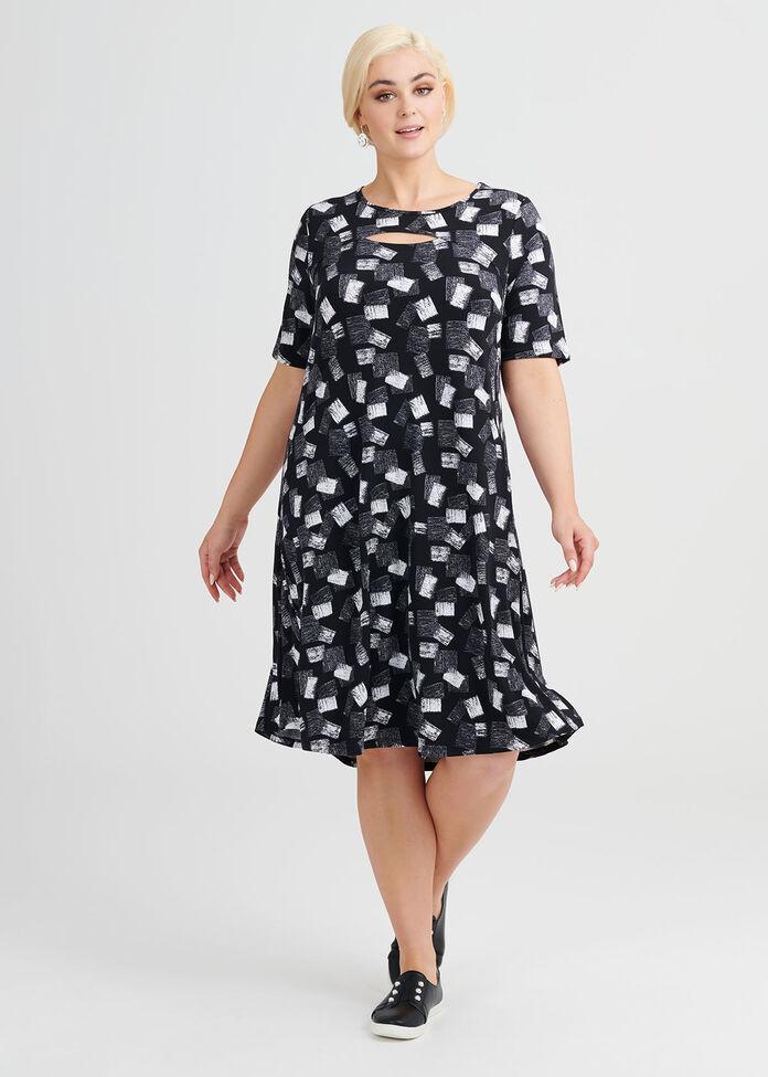 Tile Dress, , hi-res