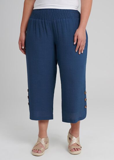 Sahara Button Crop Pant